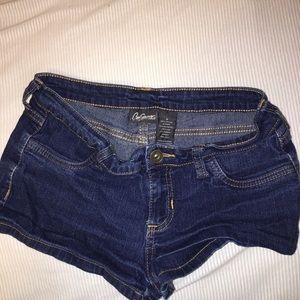 Jean shorts size s